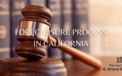 Foreclosure Process in California