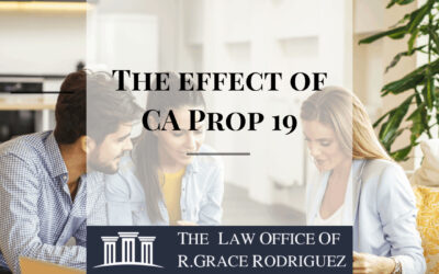 The Effect of California's Proposition 19 on Real Estate Planning