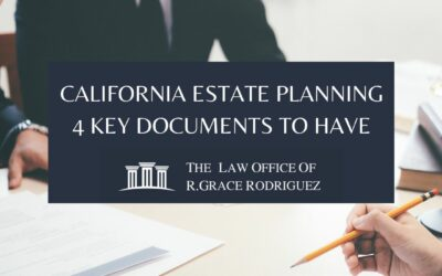 California Estate Planning: 4 Key Documents to Have